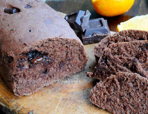 Pan bauletto integrale al cioccolato