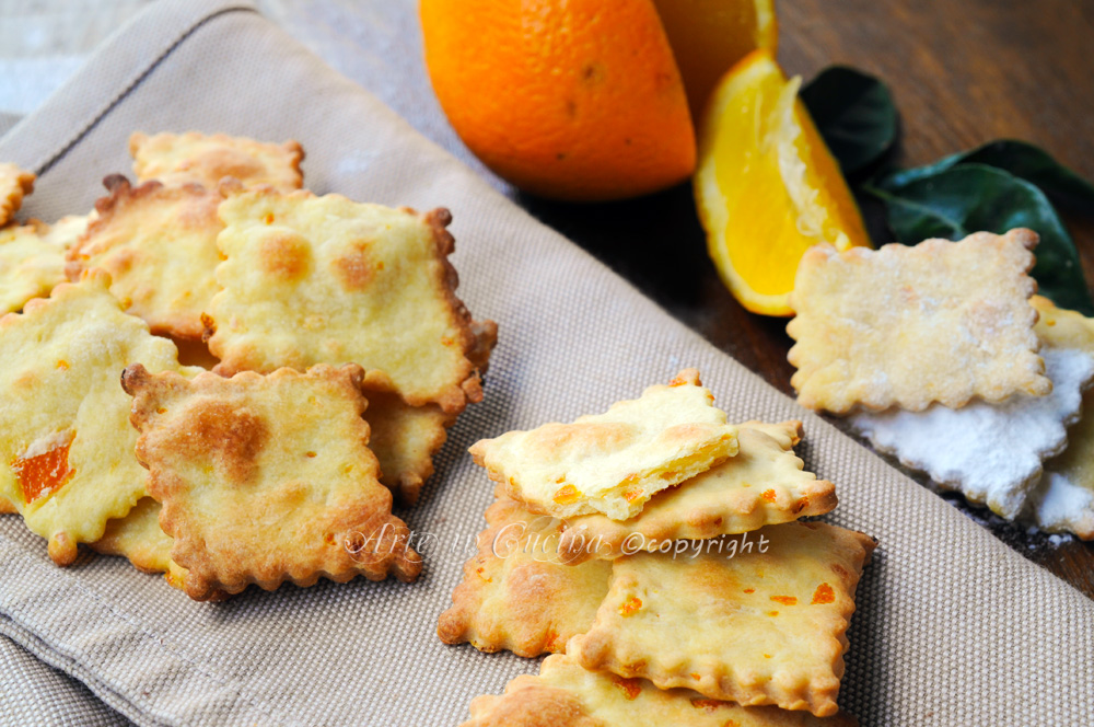 Sfogliatine dolci all'arancia dolci veloci leggeri vickyart arte in cucina