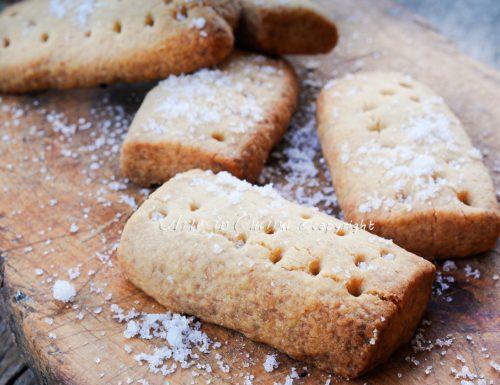 Shortbread biscotti scozzesi al burro veloci