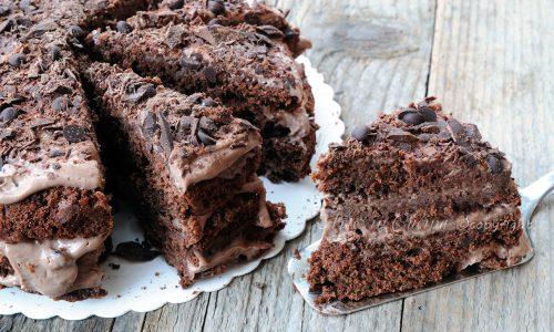 Torta nutellotta cioccolotta alla ricotta facile veloce