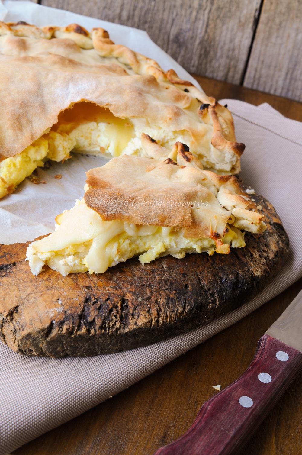 Torta rustica con ricotta sfogliata veloce senza burro vickyarte arte in cucina