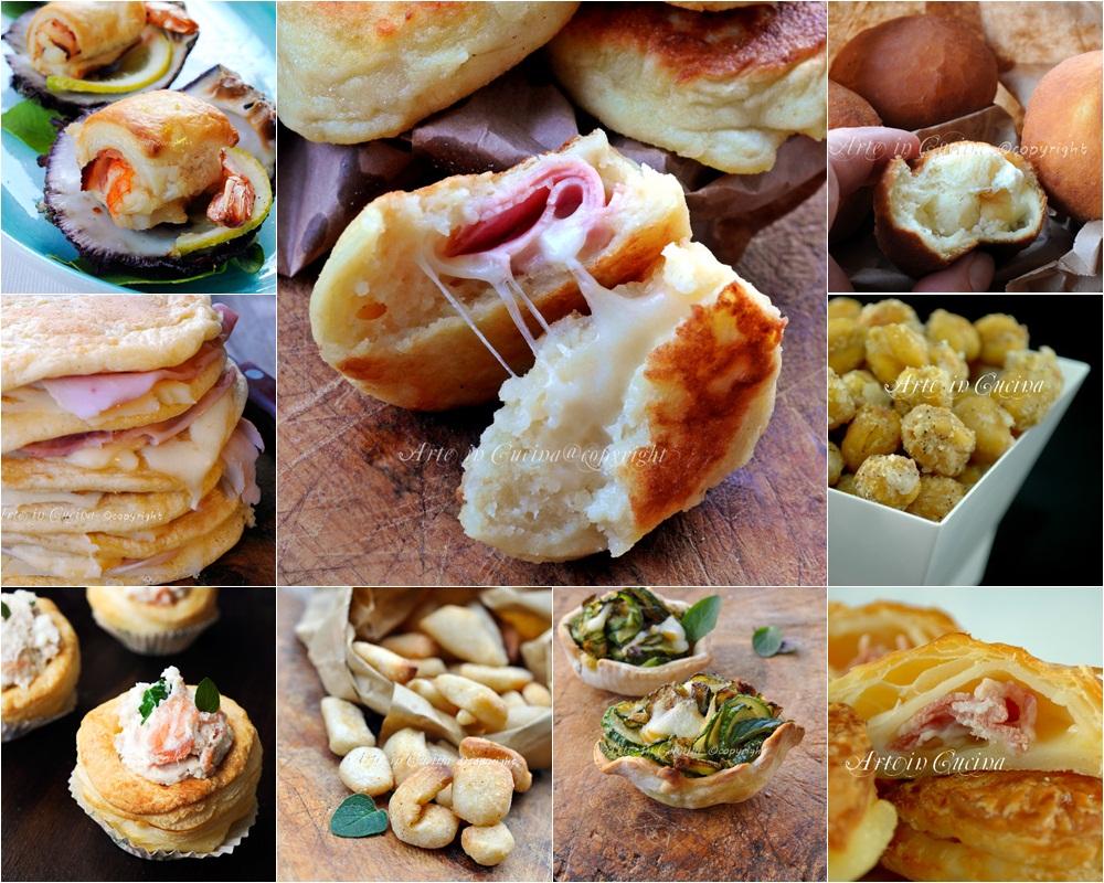 spesso Antipasti per capodanno stuzzichini finger food | Arte in Cucina US36