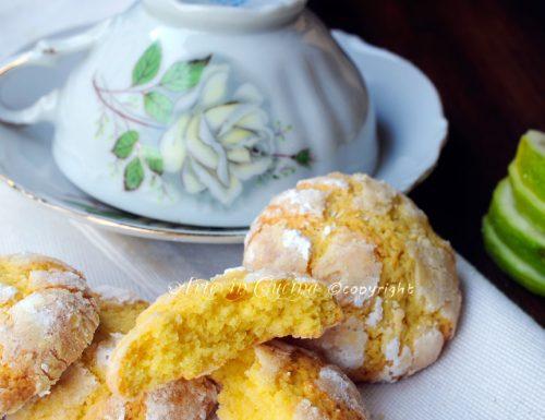 Biscotti morbidi al limone facili e veloci