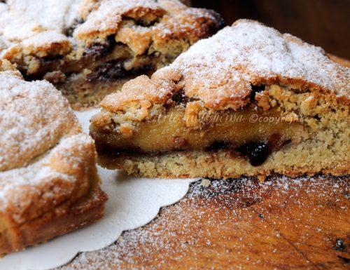 Crostata morbida al tiramisu e nutella