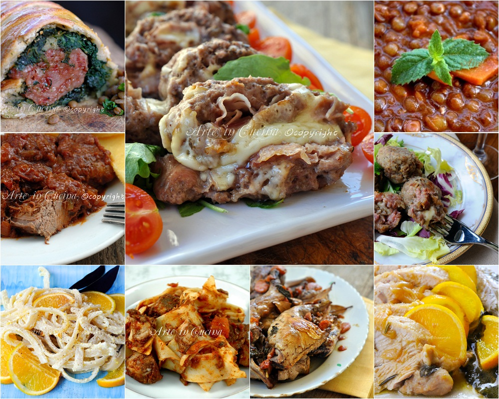 Menu cenone di capodanno ricette di carne arte in cucina - Secondi piatti da cucinare in anticipo ...