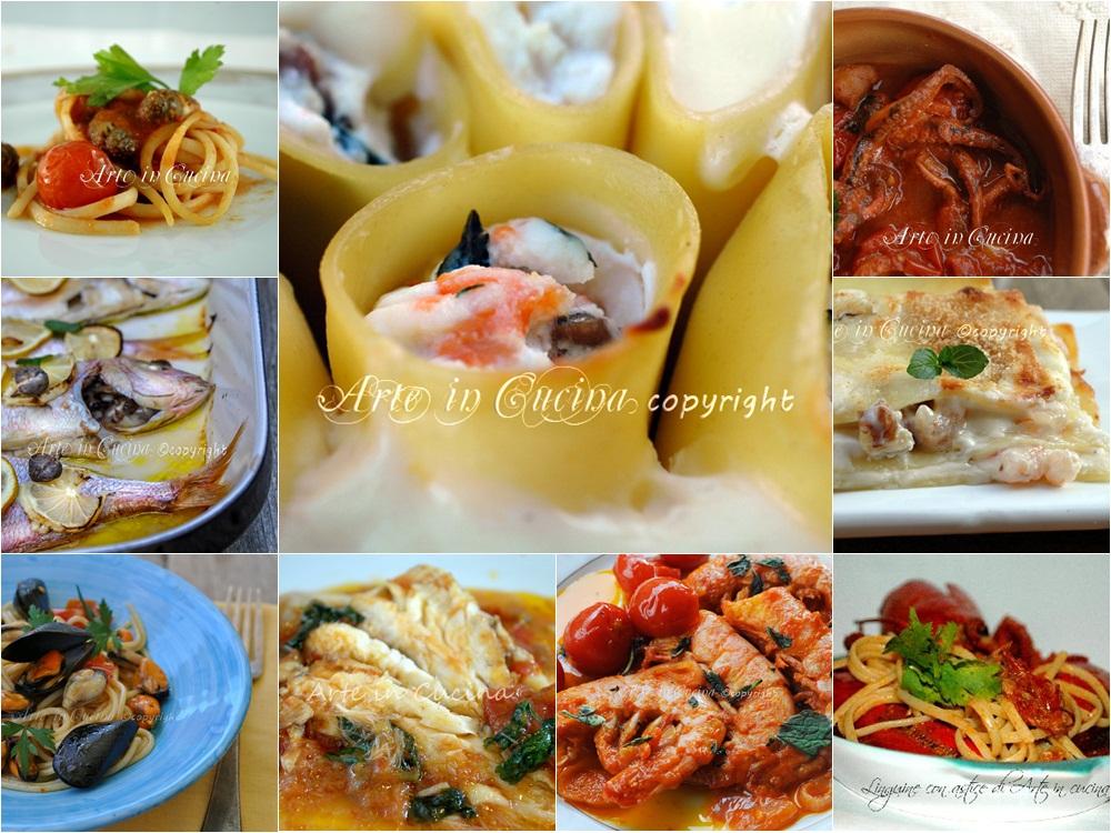 Menu cenone di capodanno ricette di pesce | Arte in Cucina