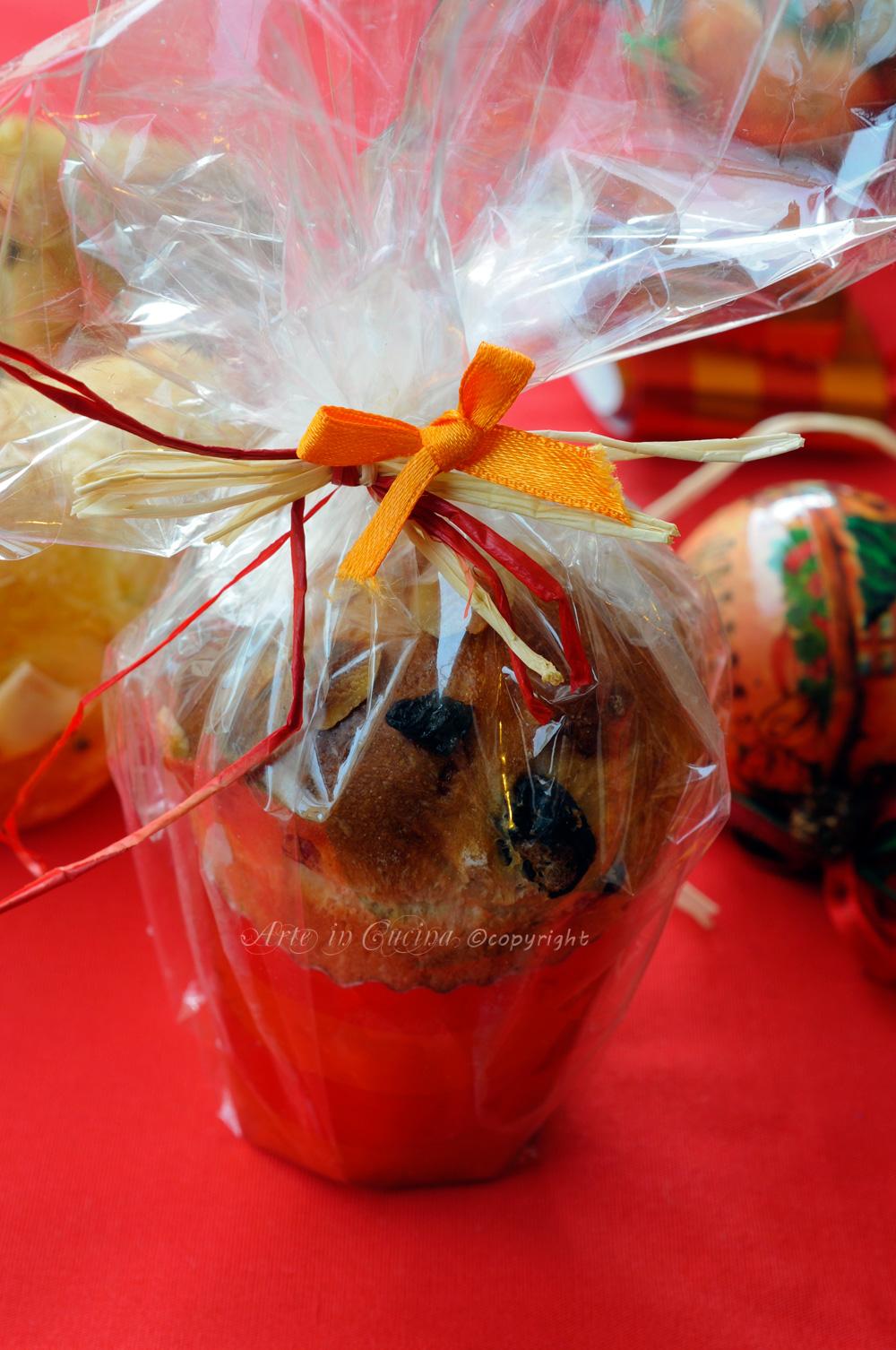 Panettoncini da regalare per Natale idea facile | Arte in Cucina