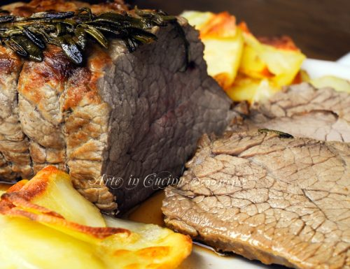 Roast beef al forno ricetta tradizionale