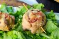 Rotolini di tacchino ripieno al forno con salame
