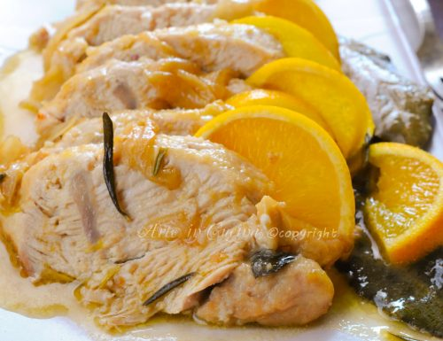 Tacchino all'arancia al forno ricetta facile