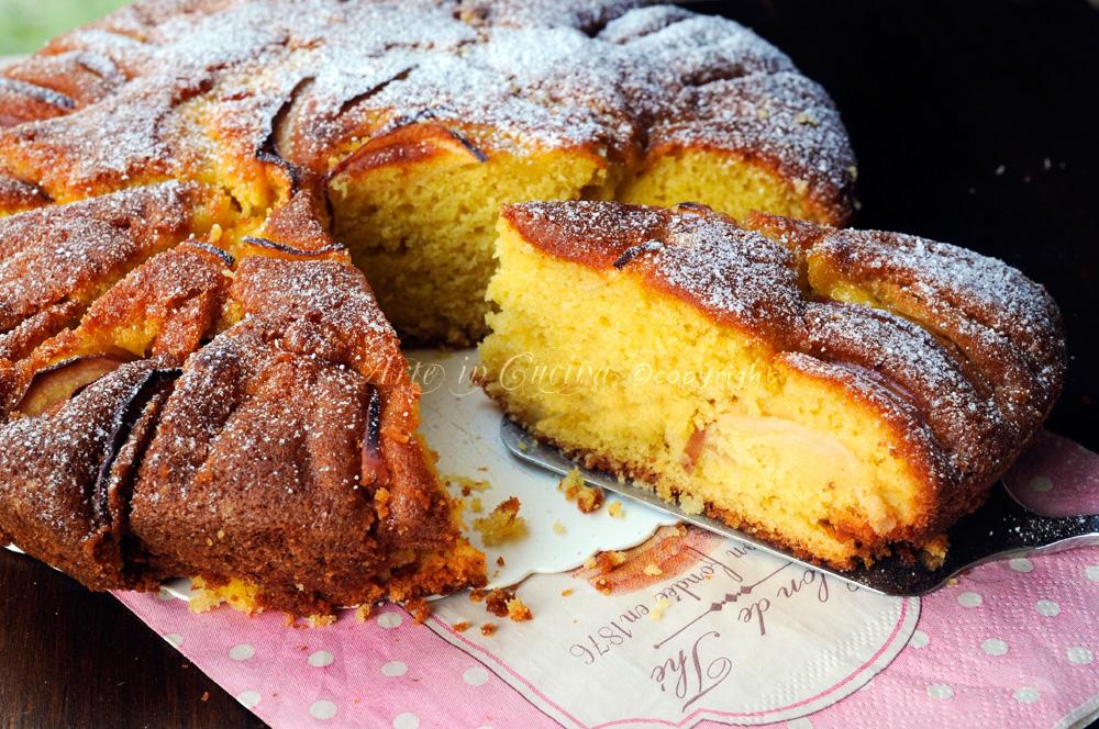 Torta di mele annurche capovolta ricetta antica vickyart arte in cucina