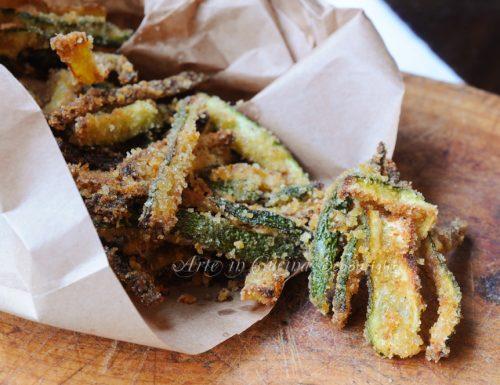 Zucchine croccanti al forno ricetta sfiziosa