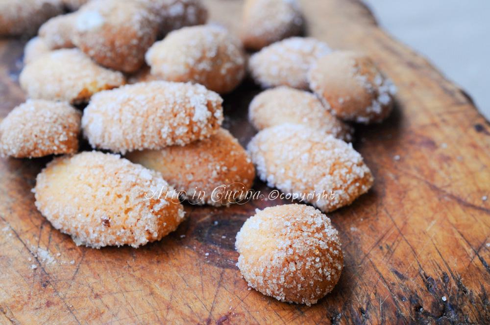 Popolare Biscottini all'arancia con bimby o senza veloci | Arte in Cucina IE54