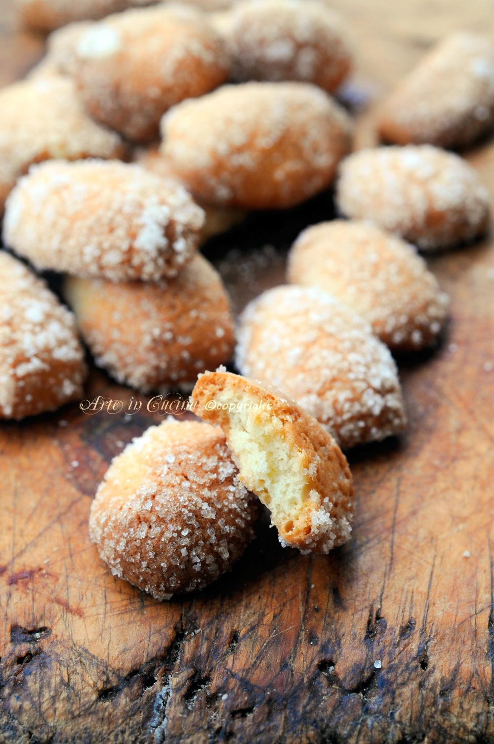 Favorito Biscottini all'arancia con bimby o senza veloci | Arte in Cucina HJ17