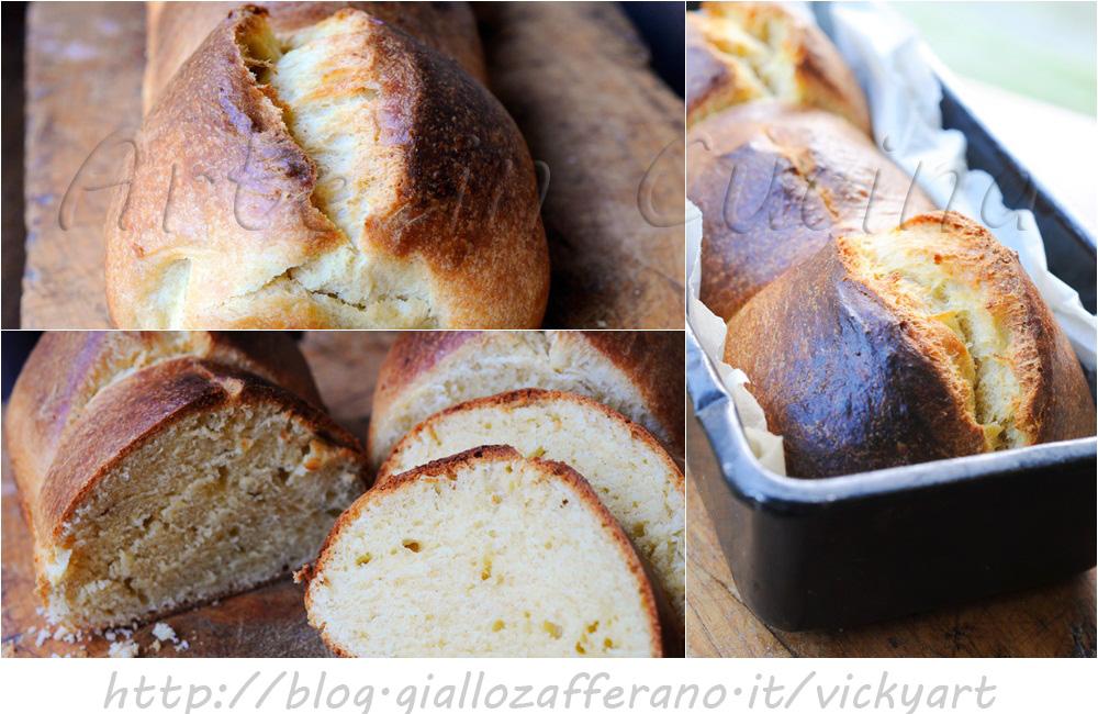 Brioche Nanterre di Herme ricetta francese con pasta madre vickyart arte in cucina