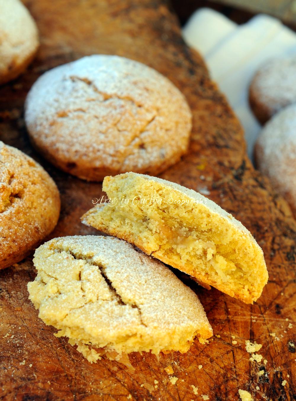 Cerchietti irlandesi biscotti alle mele veloci vickyart arte in cucina