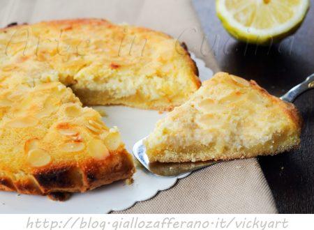 Crostata paradiso al limone con bimby o senza
