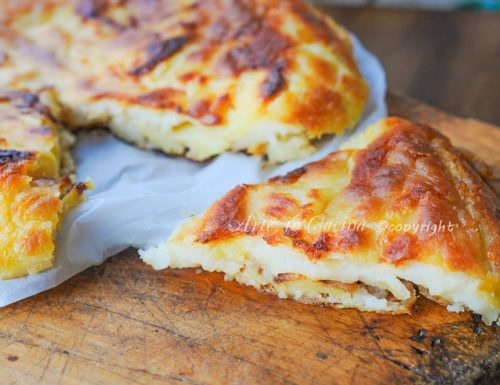 Frittata di patate senza uova facile e saporita