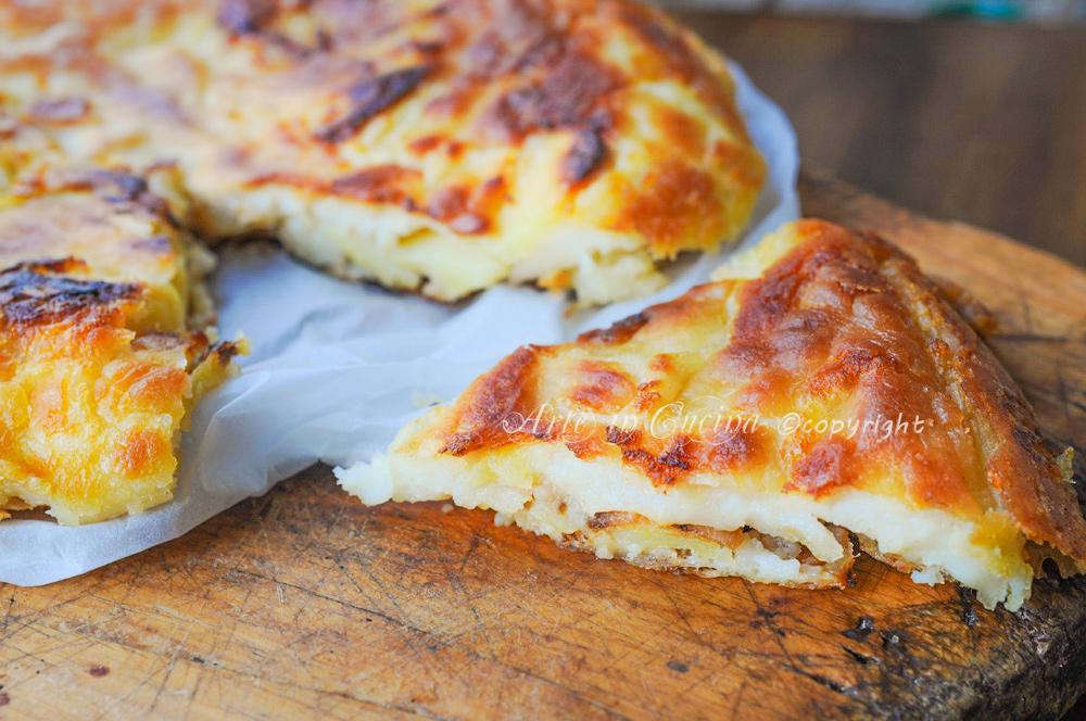 Frittata di patate senza uova facile e saporita vickyart arte in cucina