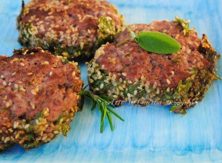 Hamburger speziati ricetta leggera facile veloce