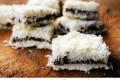 Pavè al cocco con nutella dolce senza forno