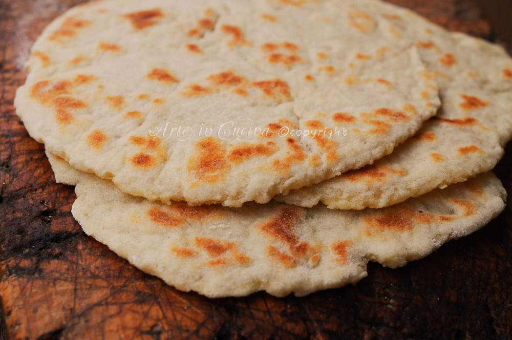 Piadina norvegese con patate lefse for Cucina norvegese