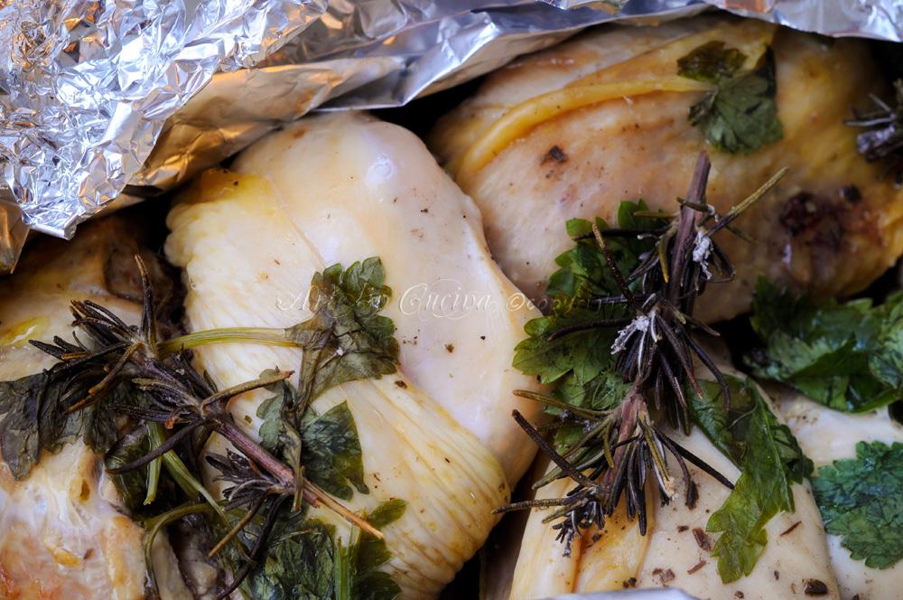 Pollo al cartoccio con limone e spezie - Spezie in cucina ...