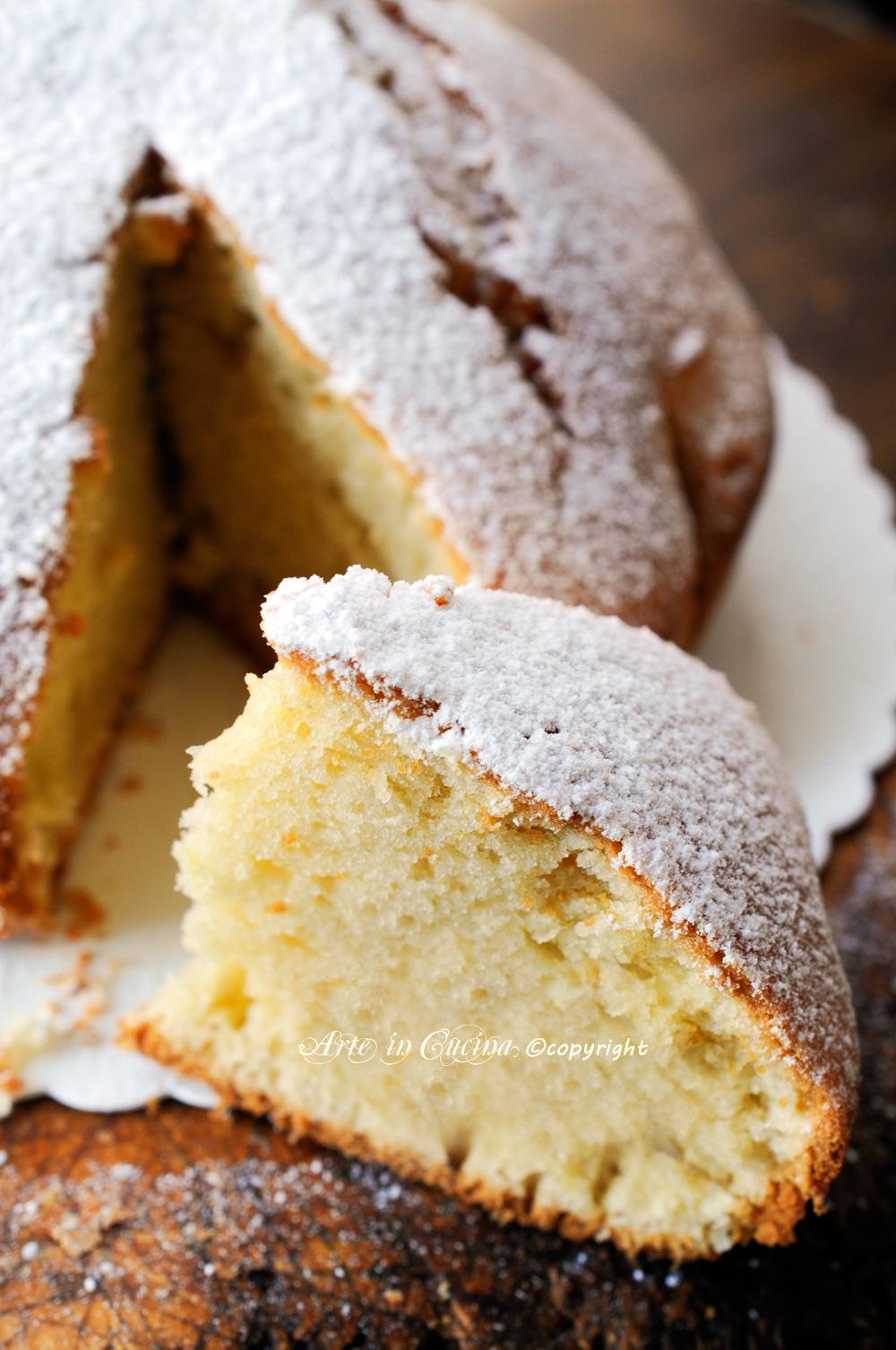 Torta leggerissima soffice veloce alla vaniglia vickyart arte in cucina