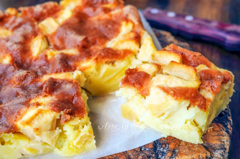 Torta di mele della nonna facile e veloce vickyart arte in cucina