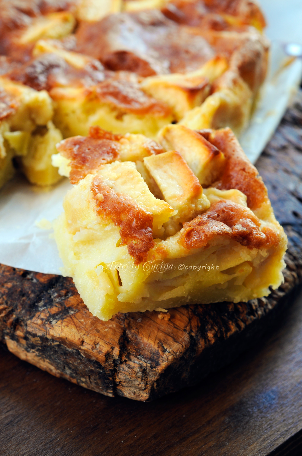Ricetta benedetta parodi torta di mele