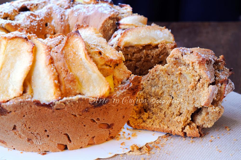 Torta di mele tedesca ricetta dolce facile vickyart arte in cucina