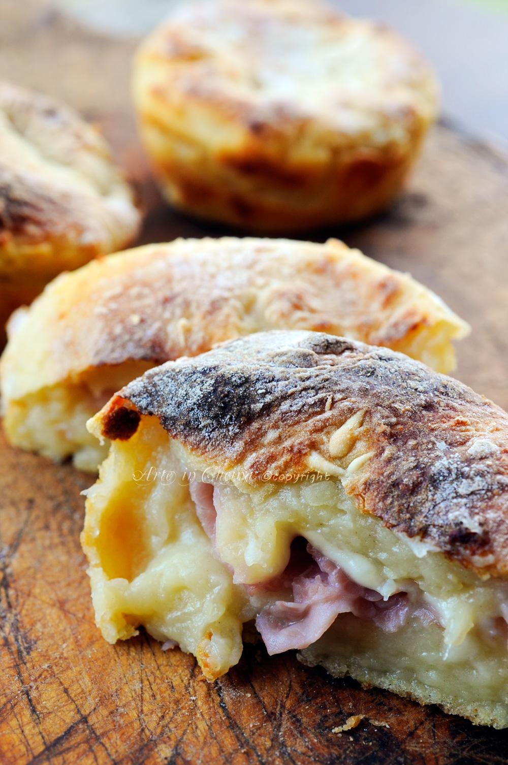 Tortine di patate salate dal cuore filante vickyart arte in cucina