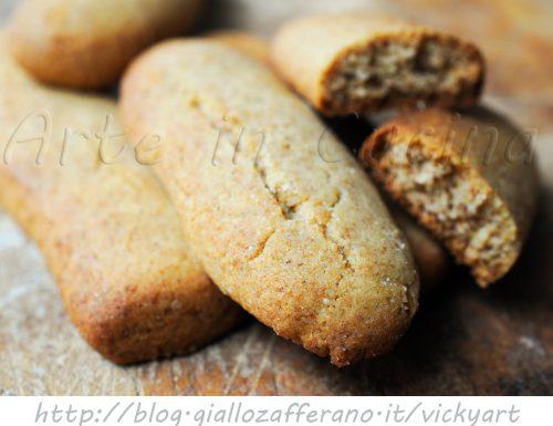 Biscotti integrali al miele senza burro anche bimby