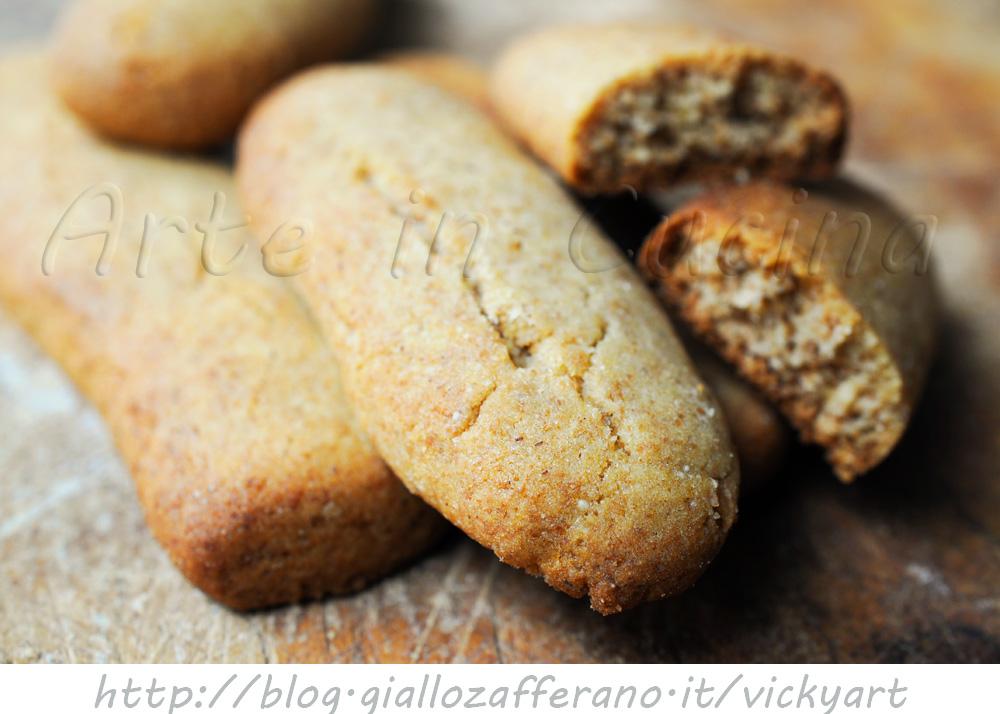 Preferenza Biscotti integrali al miele senza burro anche bimby | Arte in Cucina YN09