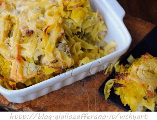 Crostata di tagliatelle in bianco ricetta napoletana