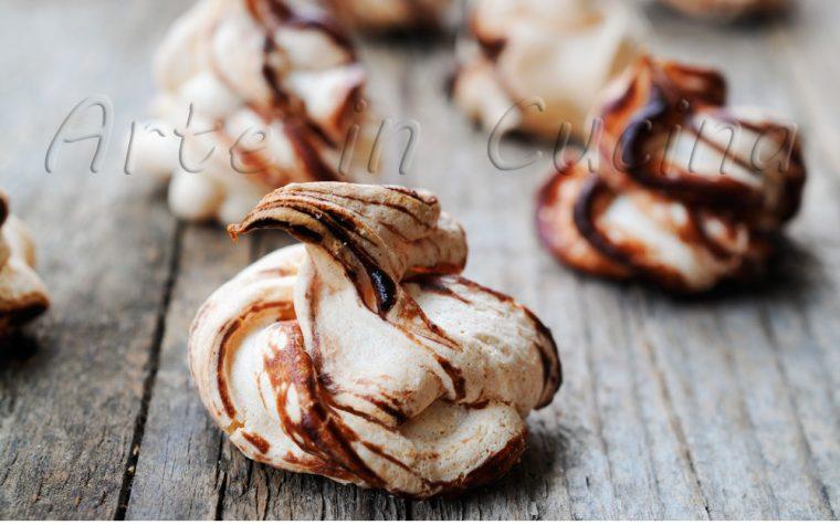Meringhe alla nutella ricetta veloce anche bimby
