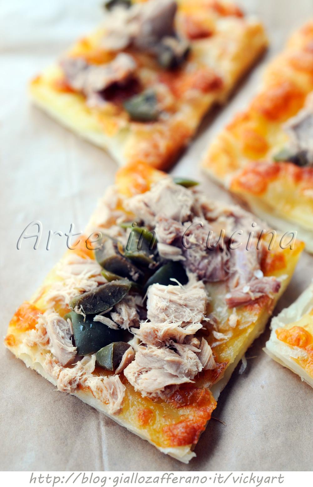 Ricette stuzzichini con pasta per pizza