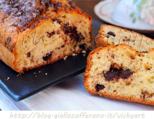 Plumcake alla ricotta e cioccolato veloce anche bimby