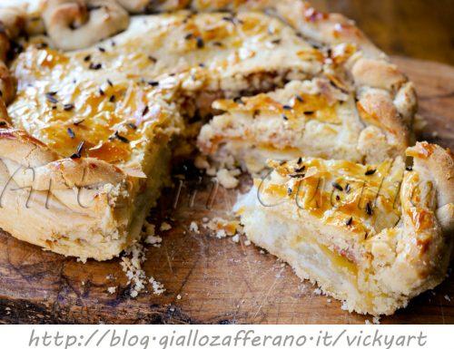 Torta salata di finocchi e asiago veloce anche bimby