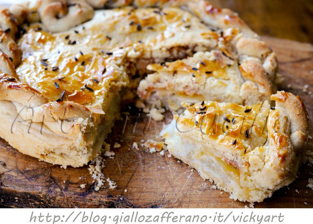 Torta salata di finocchi e asiago veloce anche bimby vickyart arte in cucina
