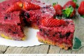 Cheesecake senza cheese fragole e frutti di bosco light