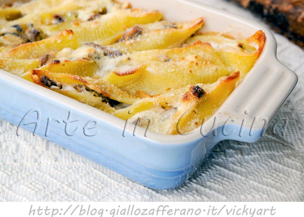 Pasta ripiena funghi ricette
