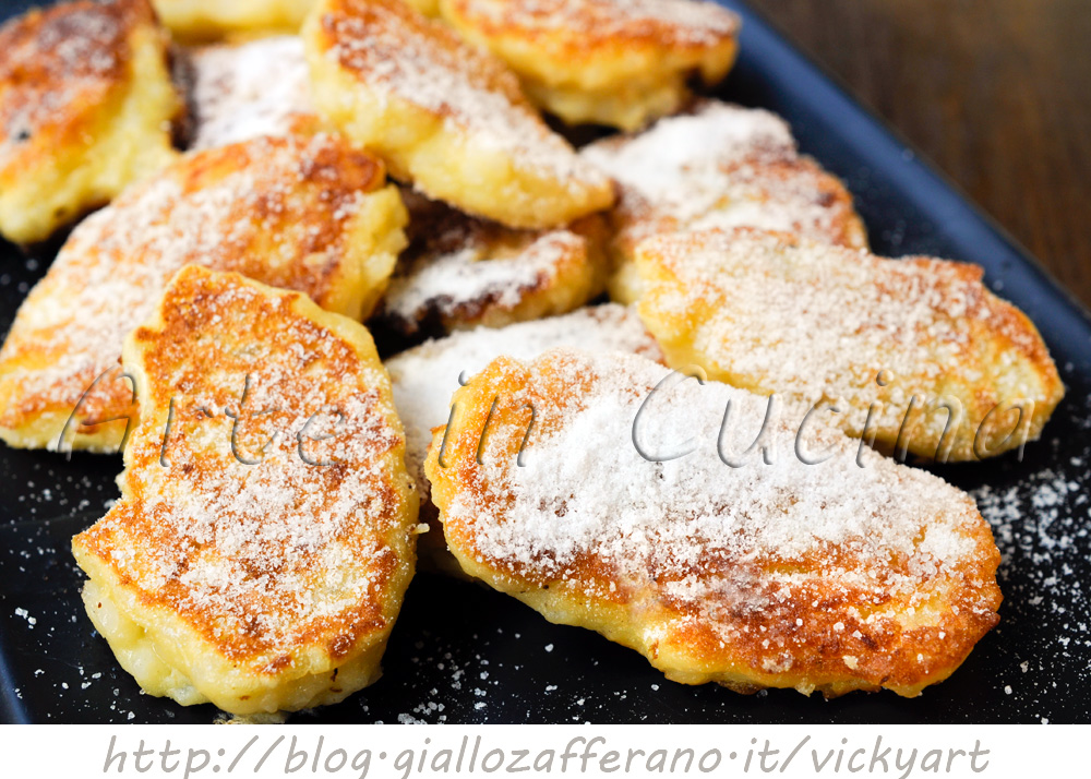 Frittelle di riso dolci di S.Giuseppe ricetta Toscana vickyart arte in cucina