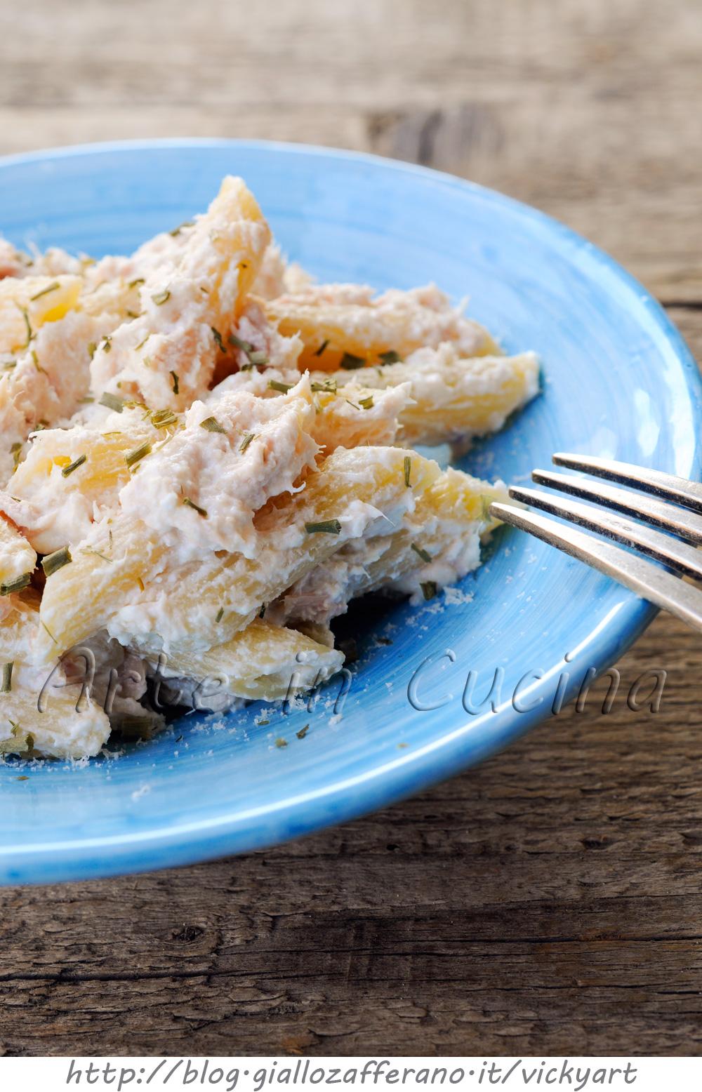 Mac and cheese con tonno primo veloce e leggero vickyart arte in cucina