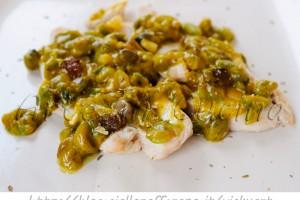 Pollo in salsa saracena ricetta siciliana veloce