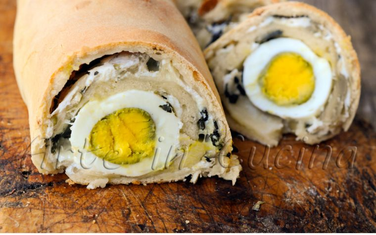 Rotolo torta pasqualina ricetta per Pasqua