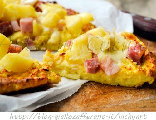 Sbriciolata di patate con salumi e formaggio