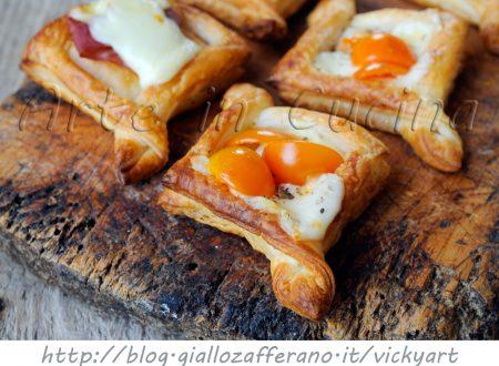 Sfogliatine danesi salate per feste e buffet