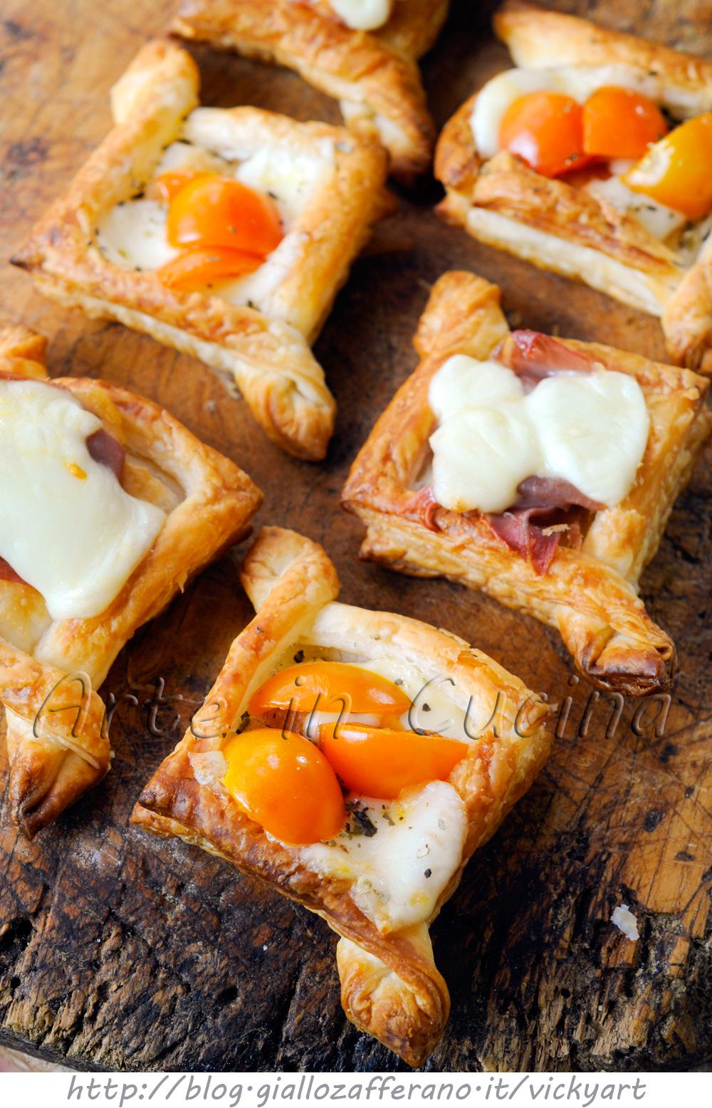 Sfogliatine danesi salate per feste e buffet vickyart arte in cucina