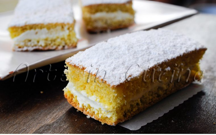 Tortine kinder paradiso con camy cream